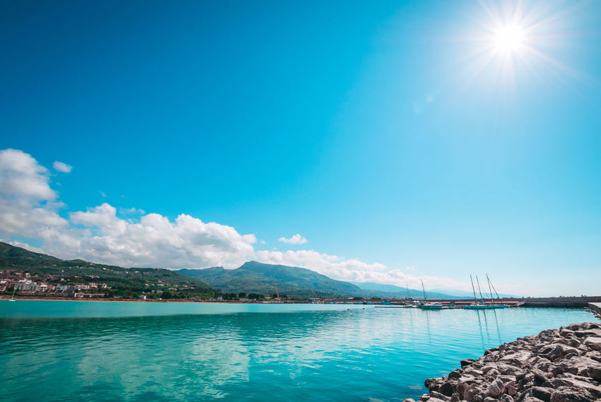 Caribbean Sea Caribbean Life Landscape_Collection Sicily Sky And Clouds Summertime Beauty In Nature Blue Landscape Blue Sky Blue Sky And Clouds Blue Water Blue Water Blue Sky Caraibi Cloud - Sky Colorful Day Day Photography Daylight Italy Landscape Nature Outdoors Sky Streetphotography Summer