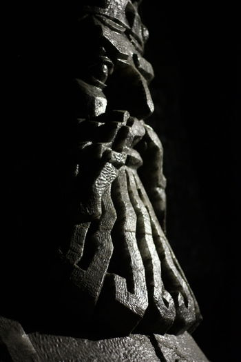 Black Background No People Indoors  Statue Close-up Salt Wieliczka Wieliczka Salt Mine King Contrast