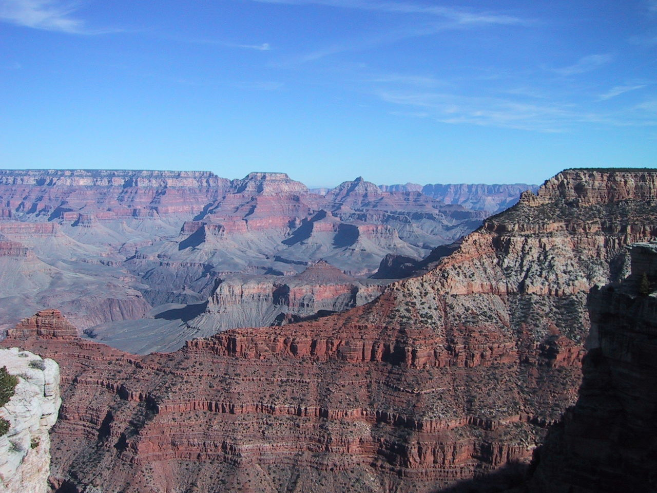 Scenic View Of Grand Canyon Against Sky