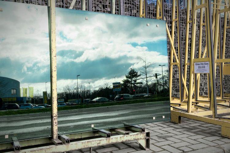Reflection Streetphotography Cityscape EyeEm Best Shots Mirror Enjoying Life City Lights Clouds And Sky Oberursel