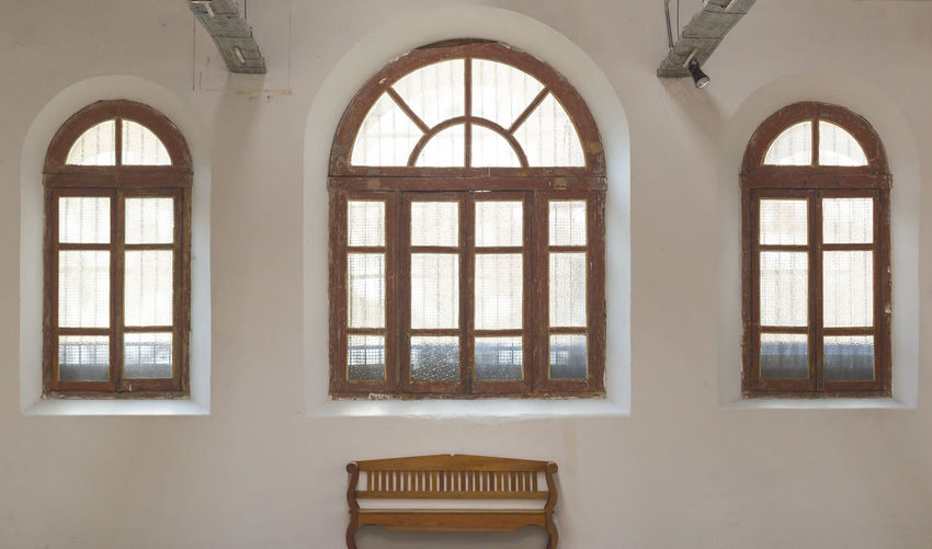 Arch Architecture Day Furniture Home Interior Indoors  No People Window Wood