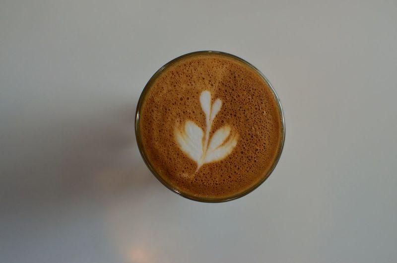 A small latte