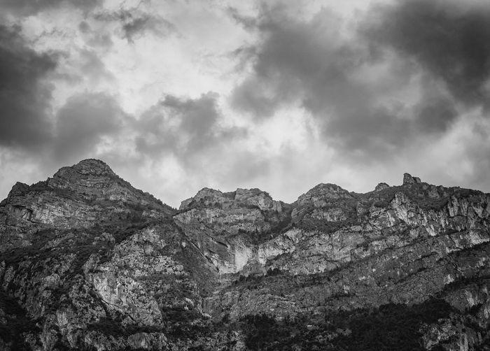 Views of the northern end of Lake Garda. Italy. Beautiful Black & White European  Nature Alps Beauty In Nature Black And White Blackandwhite Day Environment Europe Garda Italian Italy Lake Landmark Landscape Mountain Nature Non-urban Scene Outdoors Rock Scenics - Nature Sky Tranquility