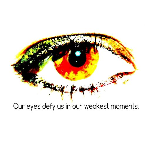 Eye+Quote Hanging Out Random