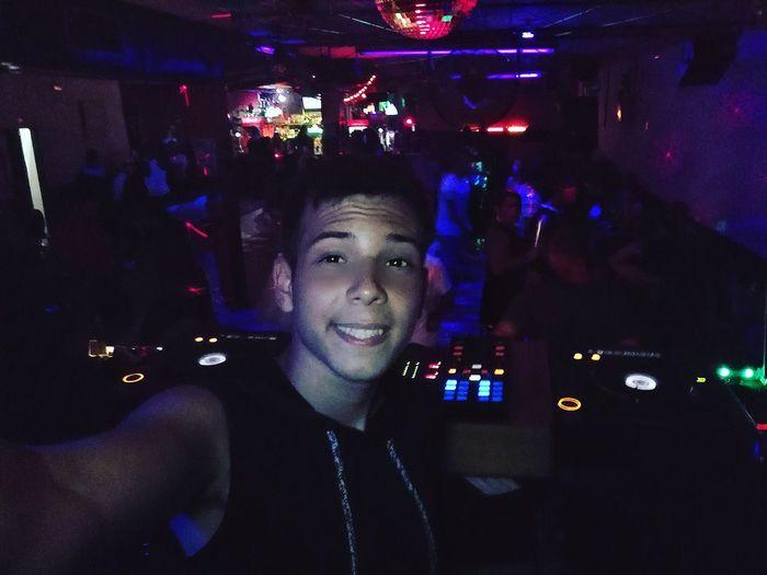 Dj DJing Dj Set Dj Life Music Looking At Camera Night Young Men Casual Clothing Vacations Young Adult Person Front View Night