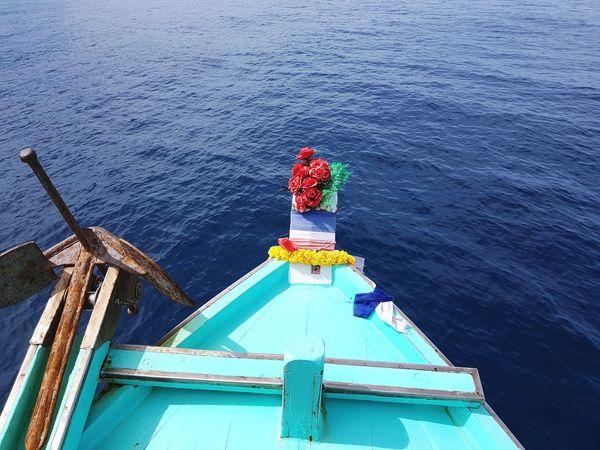 Water Sea Boat Sailing Boat Calm Ocean Sailing
