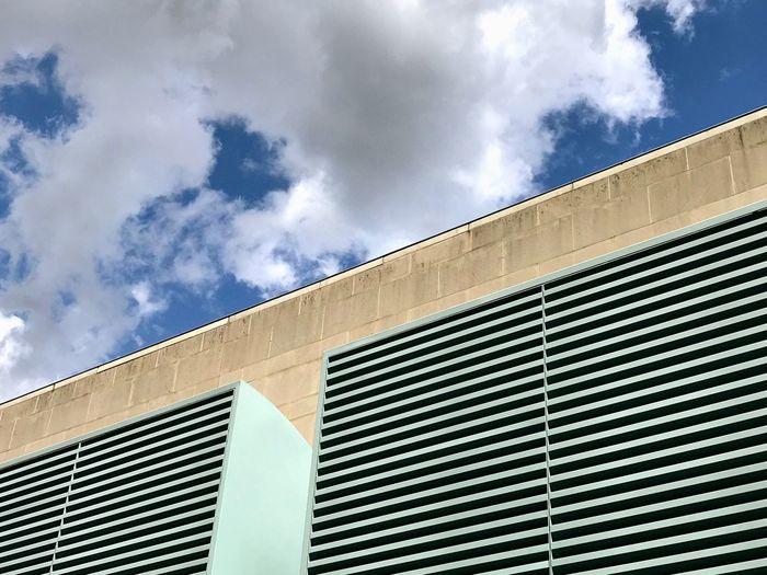 Bonn Art Museum Architecture Bonn Built Structure Cloud - Sky Sky Outdoors Low Angle View No People City