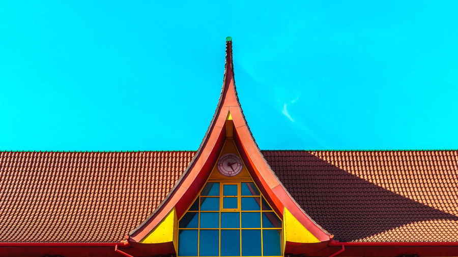 Blue Blue Sky Building Exterior Minimal Minimalism Minimalist Minimalist Architecture Minimalist Photography  Minimalistic Minimalobsession No People Outdoors Pagoda Pastel Colors Pastel Power Peak Pretty Roof Roof Simple Photography Simplicity Sky Art Is Everywhere The Architect - 2017 EyeEm Awards The Graphic City