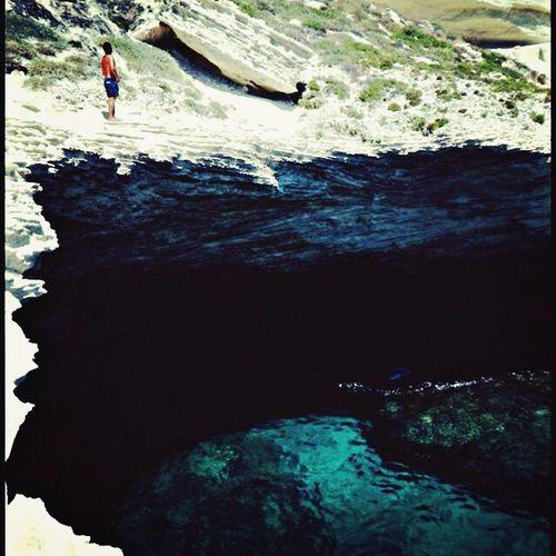 Jumping Cliffs Sea