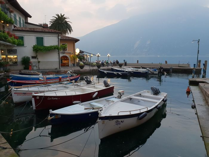 Limone sul Garda Gardasee Sky And Clouds Architecture Beauty In Nature Building Building Exterior Built Structure Day Gardalake Harbor Italy Italy❤️ Lake Lake View Lakeside Mode Of Transportation Moored Mountain Nature Nautical Vessel No People Outdoors Sea Sky Transportation Water Waterfront