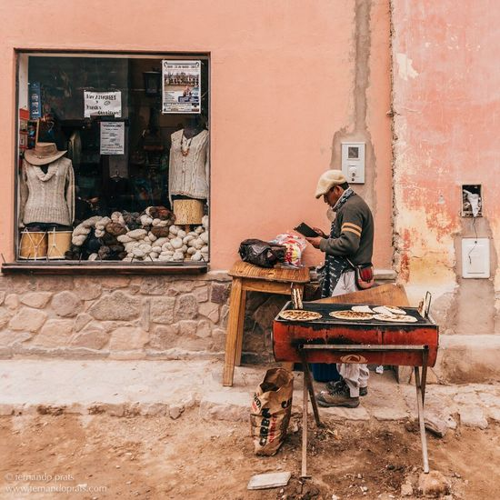 Jujuy Argentina Street Life One Person Comidas The Week On EyeEm The Human Condition The Street Photographer - 2017 EyeEm Awards