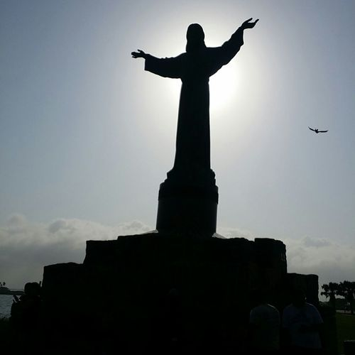 Jesuscristo Jesus Christ Elchristodelospescadores South Padre Island Beach Skylover Blessed  Texaspride Texas