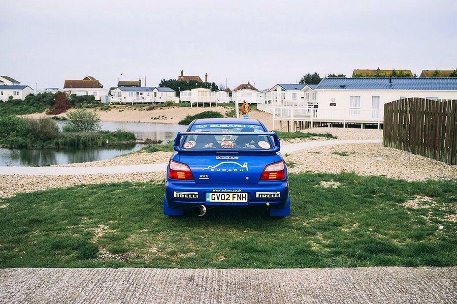 Subaru at the caravan park Cars Subaru Caravan Park