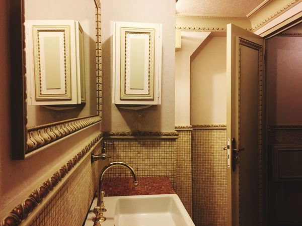 EyeEm Selects Indoors  Bathroom No People Home Architecture Mirror Absence Door Entrance Flooring Wall - Building Feature Built Structure Tile Domestic Room Domestic Bathroom Sink Hygiene Household Equipment Railing Public Building