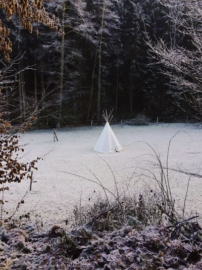 Oberoesterreich Outdoors Tipi Winter