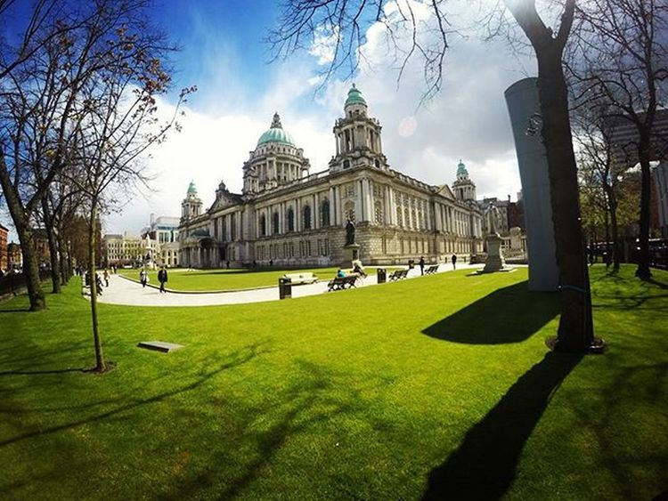 CITY HALL BY GOPRO HERO 4 SILVER Belfast Cityhall Gopro Goprohero4 Hero4 Silver  Trip Travel Traveling Travelingram Photography Photooftheday Globetrotter Travelblogger YOUTUBE >> MACIEK WORLDBESTTRIPS https://www.youtube.com/channel/UCSiN3FvKGhYhDAo9_bN83MQ The Architect - 2016 EyeEm Awards Photobymaciek Architecture Follow4follow Photographer Original Experiences Feel The Journey Northern Ireland Sunny Day Beautiful Outdoors