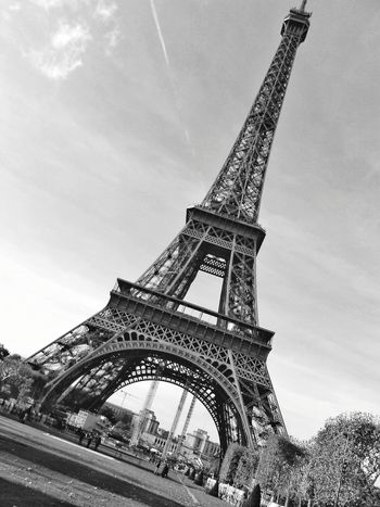 EfielTower Travel Destinations History Architecture Built Structure Tower Travel Metal Sky Steel No People Low Angle View Day An Eye For Travel