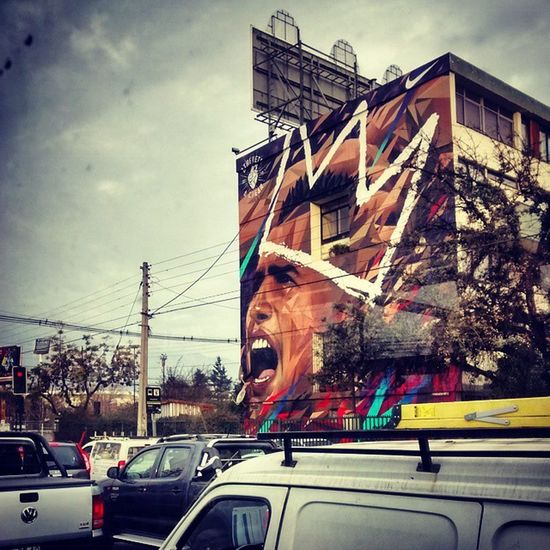 Aguante rey Arturo CopaAmérica Chile