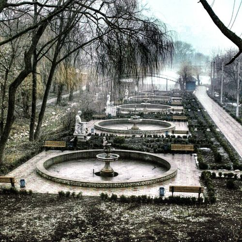 Единец Молдова парк Какжекрасииво
