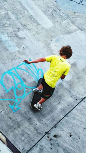 Childhood Boys Playing Leisure Activity Enjoyment Fun Lifestyles High Angle View Full Length Casual Clothing Playful Outdoors Day Vacations Extreme Sports Summer Multi Colored Skateboarding Skatepark SkateLove Skatelife Skaterboy Skateboards Skateanddestroy Skateboard