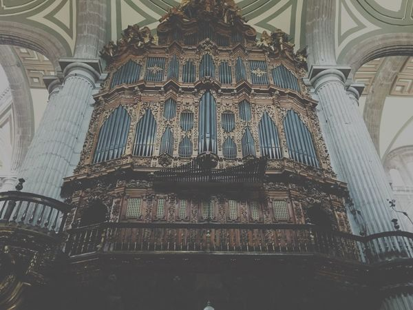 { 18th century organ } one of the largest of the Americas.
