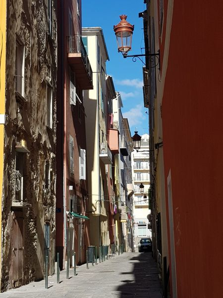 l'architecture corse House Houses Quartier Maison Corsica Corse Architecture Built Structure Building Exterior City Outdoors Day Sky No People Clear Sky The Way Forward