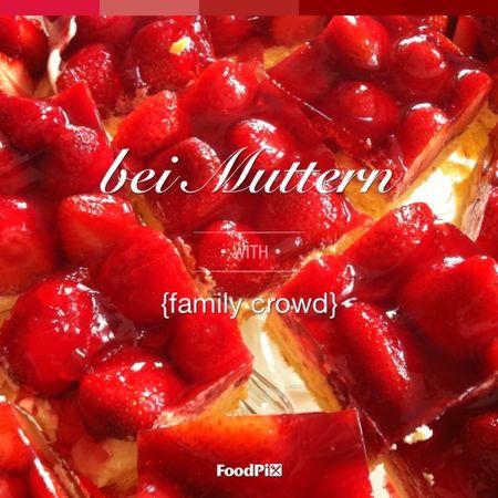lecker Bei Muttern Strawberry Strawberry Cake