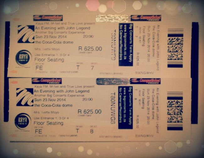 Allofme|johnlegend|concert|joburg|:)