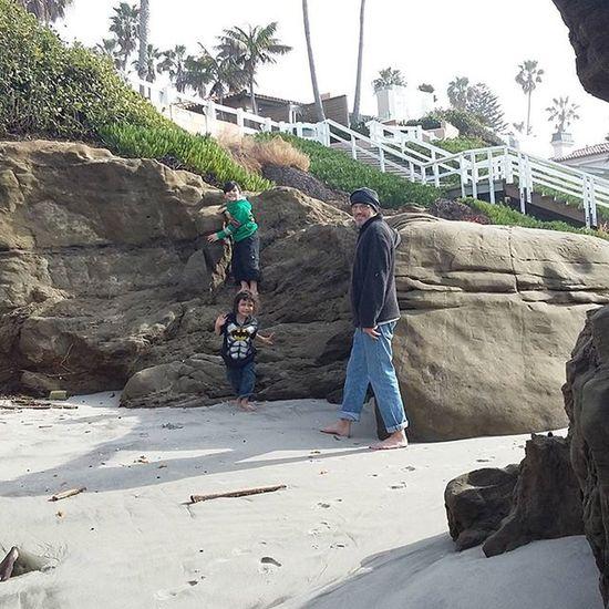 Boys having fun! Family Boys San Diego Windnsea Fun