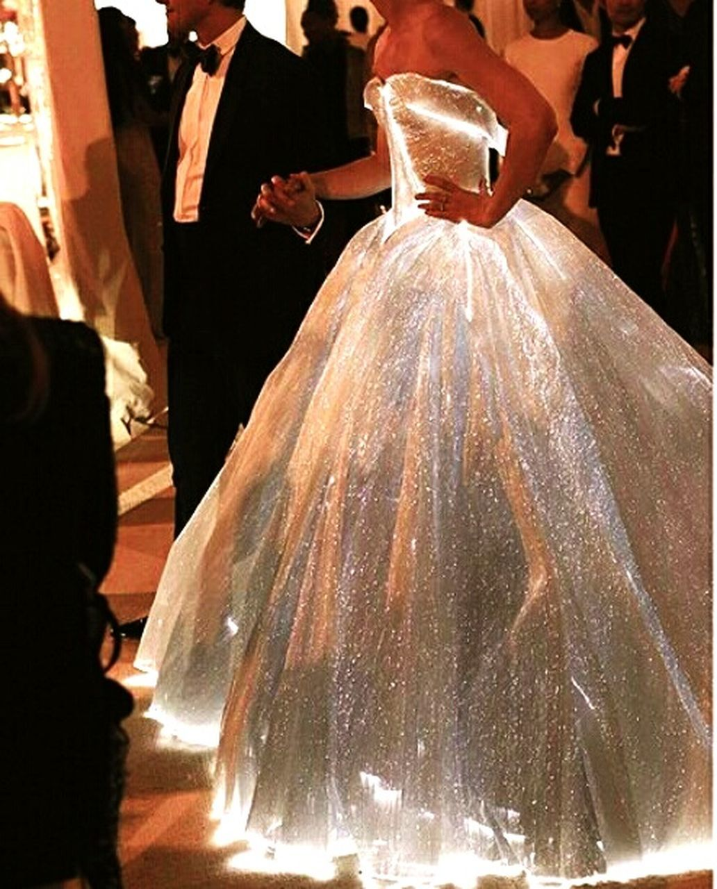 real people, bride, wedding dress, indoors, wedding, celebration, two people, well-dressed, women, night, adult, people, adults only