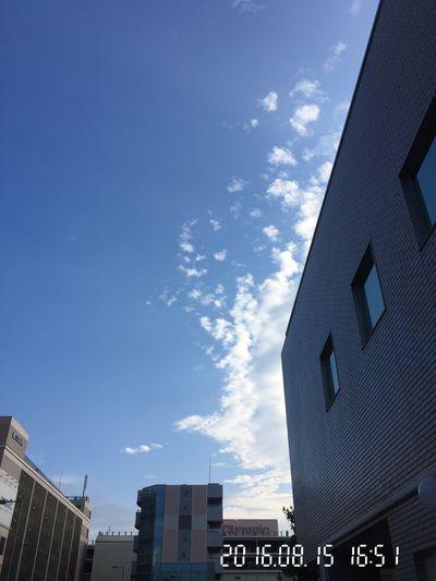 今日も… Sky And Clouds Clouds And Sky