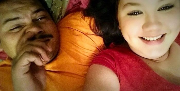 My little moco face ? I love you papi?? Papi Moco♡ Love
