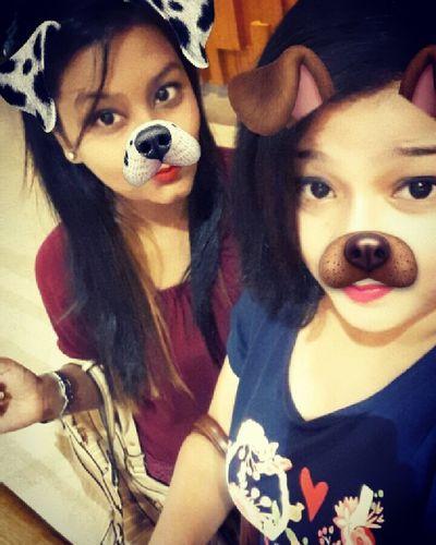 Snapchat Bestfriend Bestfriends <3 Bestfriendforever Bestfriendforever💋💕💙💚💛💜💓💕💖 Love ♥ Selfination Favfilter