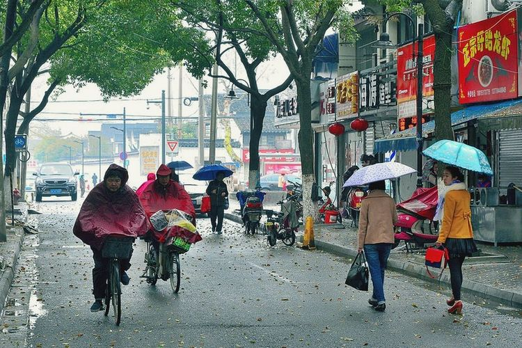 Rain Traveling In China Streetphotography
