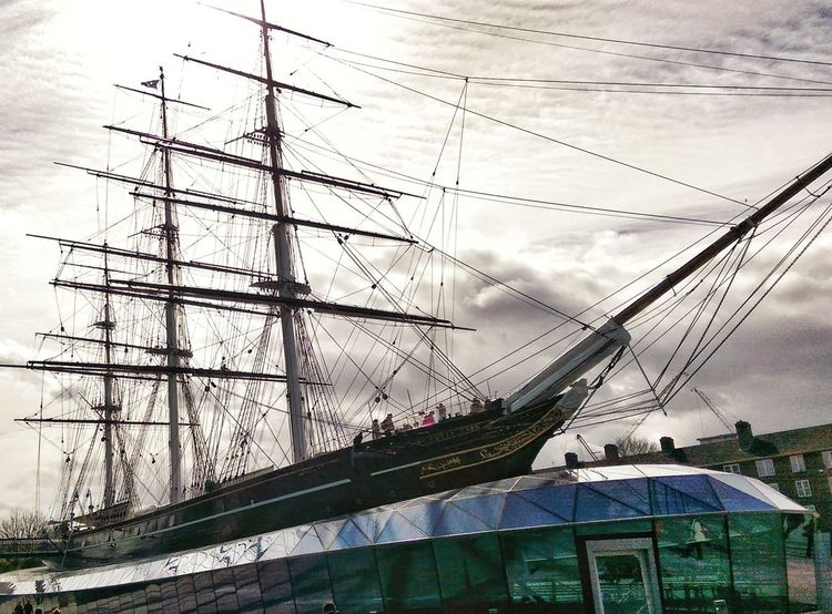 Cityscape No People City Architecture Day Travel Destinations Built Structure Travel City Life Water Futuristic Clear Sky Nautical Vessel Greenwich,London Cutty Sark Greenwich.