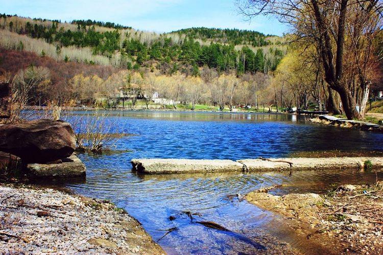 Lake Nature Blacklake Forest Ankara Turkey