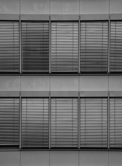 All the Same yet Different Facade Detail Façade Metal Blinds Blinds Urban Geometry Lines Black & White Black And White Architecture Built Structure Pattern No People Building Exterior Full Frame Backgrounds Wall - Building Feature Geometric Shape Metal Repetition Building Window Shape Modern Closed In A Row Office Building Exterior The Architect - 2018 EyeEm Awards