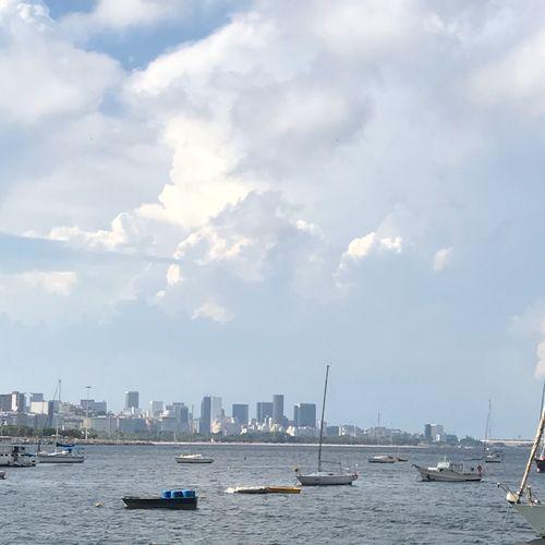 Fim Nautical Vessel Sky Water Cloud - Sky Architecture Transportation City Nature Cityscape Sailboat
