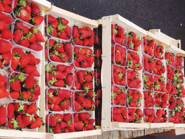 Working At The Market Marketplace Saturday Mornings EyeEm Best Shots EyeEm Gallery Art Of Buying And Selling Market Stall Market Fresh Fruit Strawberries Fruit Strawberry