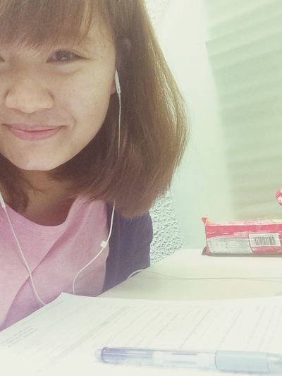 Studying Color Portrait Selfie Taking Photos reallllly stressssed