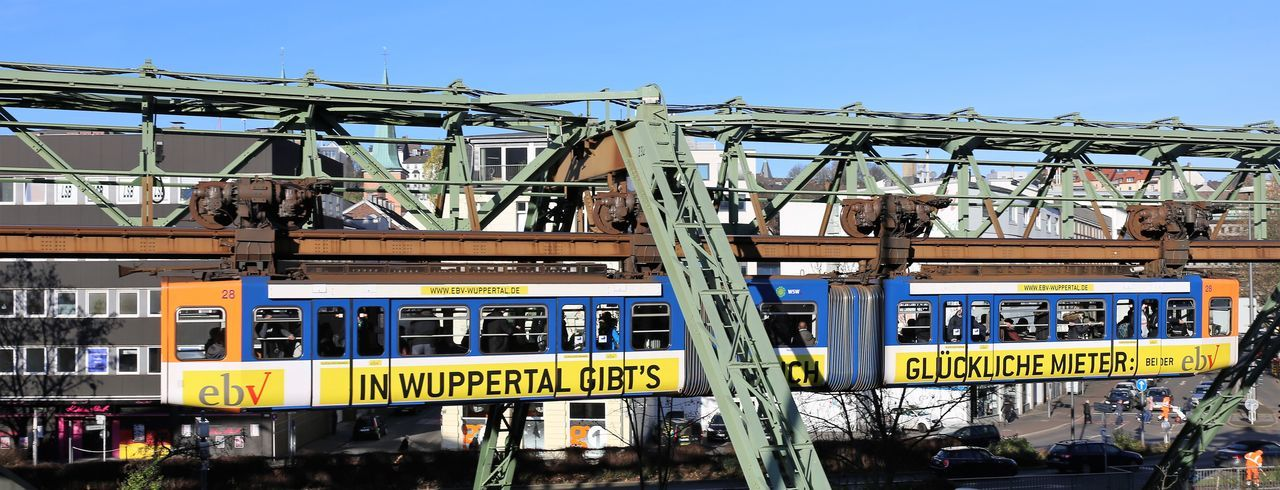 Wuppertaler Schwebebahn Public Transportation Schwebebahn Wuppertal Schwebebahnbrücke Wuppertal Wuppertaler Schwebebahn Architecture Built Structure City Day Outdoors Public Transport Public Transport In Germany Public Transportation Vehicle Schwebebahn Schwebebahnwaggon Sky Wuppertal In The Morning Wuppertal Suspension Railway Stories From The City