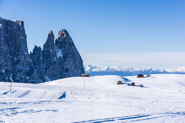 Winter panorama on the Alpe di Siusi. White dream. Dolomites, Italy Dolomites Dolomites, Italy Dolomites South Tyrol Südtirol Italy Winter Winter Wonderland Landscape Alpe Di Siusi Snow Snowcapped Mountain Snow Covered Alps Alps Italy Mountain Mountain Range Nature Dolomiti Dolomiti UNESCO Eritage Sassolungo Seiser Alm Sky South Tyrol South Tyrol, Italy South Tyrol, Dolomites Outdoors Outdoors Photograpghy  Nobody Wintersport Cold Temperature Cold Days Cold Winter ❄⛄ Tranquil Scene Beauty In Nature Sassopiatto Sciliar Cabin Scenics Scenic View Scenic Landscapes Ski Skiing Valley Chalet Freshness Horizontal Panorama Tranquility Breathtaking View Breathtaking Sceneries Cold Temperature Day Hike