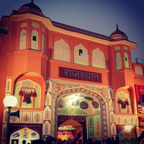 Rajasthan Pavillion decorated as City_palace Instajaipur