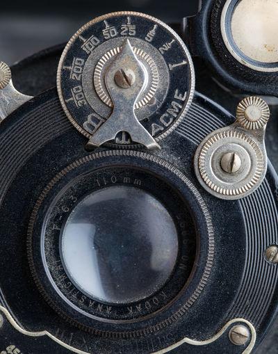 Kodak Mechanical Circles Close Up Dials Guage Macro Old Camera