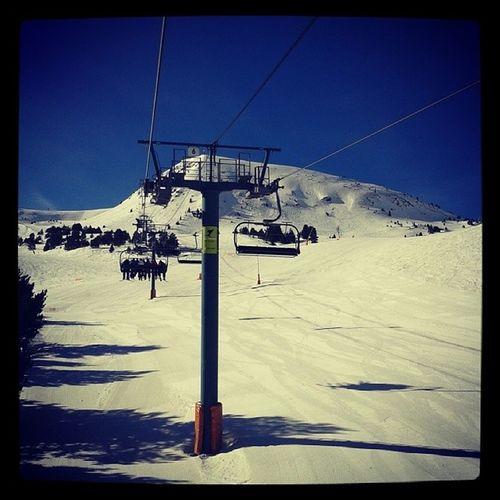 Skiën! Andorra 24o Skien Sneeuw !