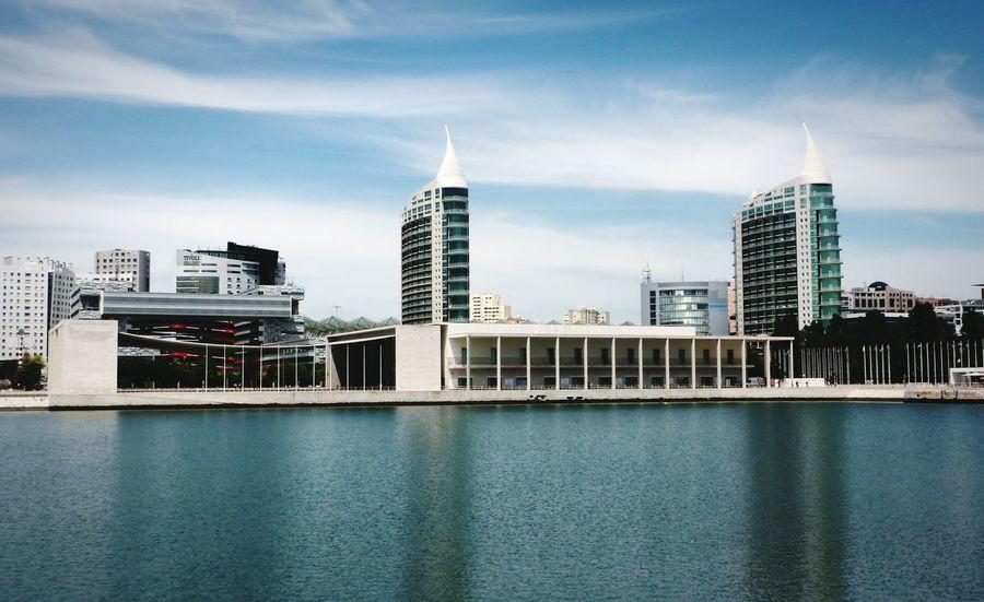 Lisbon Parque Das Nações Architecture Pavilhaodeportugal Expo