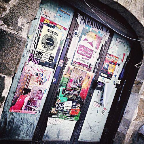 Cigarettes Door