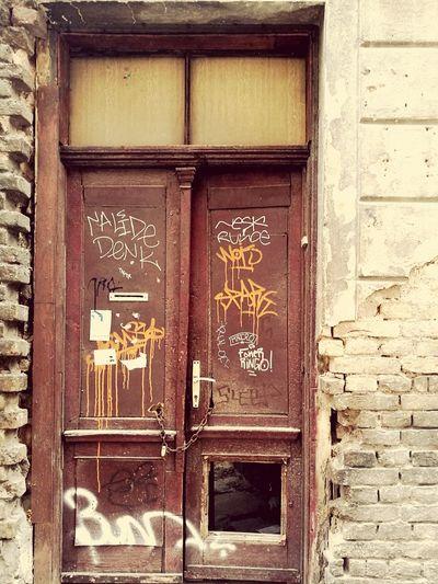 Door Outdoors Building Exterior No People Architecture City