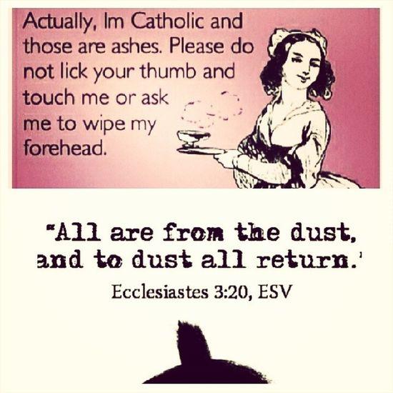 This made me chuckle lol Catholic Lent 40days Ashwednesday  NoAlcohol GivingUp