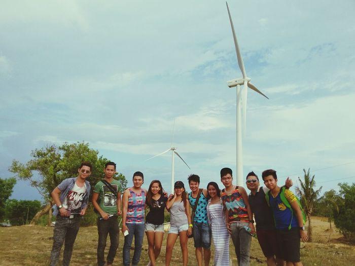 Friendship on the WindMill area!.